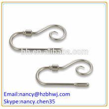 Industrial Medal Stainless Steel Curtain Hook