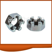 Customized for Hexagon Slotted Nuts Castle Nut export to Cayman Islands Importers