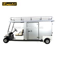 Coche eléctrico de la economía doméstica del carro de golf del precio 48V con la caja de carga modificada para requisitos particulares