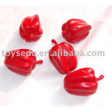 emulational chilli vegetable plastic toy