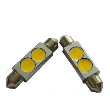 Lanterna LED de alta potência C5w Sv8.5 2W LED para carro