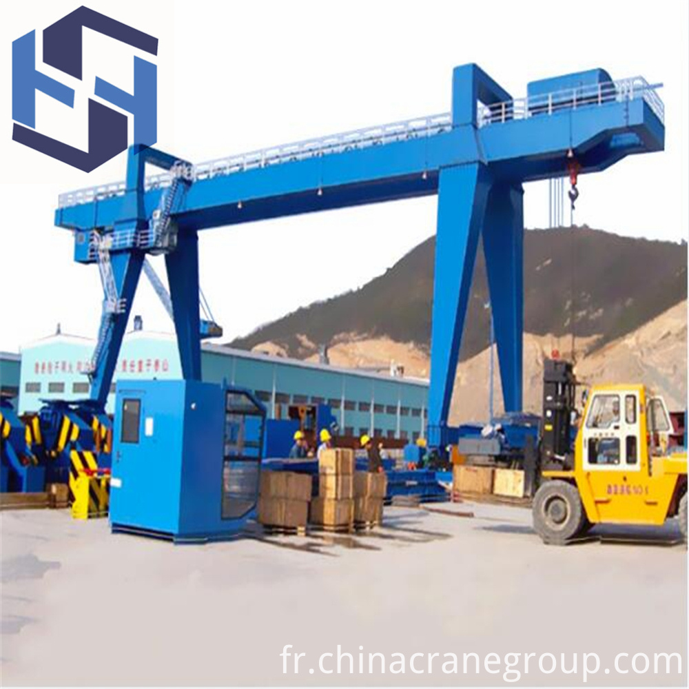 Heavy Duty Double Girder Gantry Crane for Construction-LT
