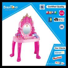 Novo produto menina piano dresser brinquedo