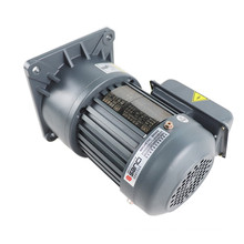 220V 380V Single phase speed reducer ac motor with gear box