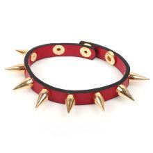 Nueva pulsera de cuero de diseño para las mujeres KSQN-22