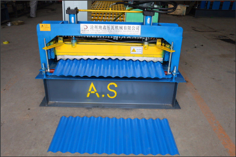 Corrugated Roofing Sheet Making Machine29
