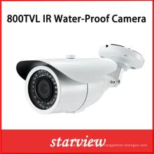 800tvl IR imperméable à l'eau CCTV Bullet Security Camera (W16)