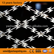 hot dipped galvanized razor wire fencing auto machine razor wire