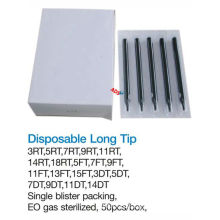 Professional Top high quality tattoo disposable long tip