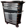 Cheap metálico mueble de la carretilla del rollo de la herramienta del metal para la venta