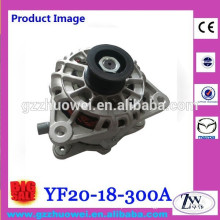 Engine 2.0L Mazda Tribute Parts China Original 12 V Alternaor Generator for Car YF20-18-300A
