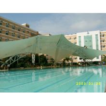 Tampa maravilhosa da piscina da estrutura da membrana