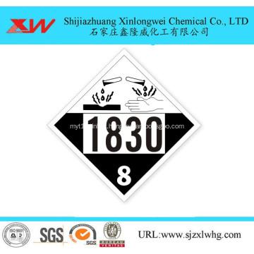 Sulfuric acid in IBC drum