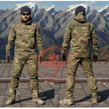Camuflagem de listra do chefe perseguidor Dustcoat terno exército
