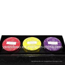 @ Traveller's Journey Seriess Gift Set Cera de Soja Orgánica Vela perfumada de estaño natural