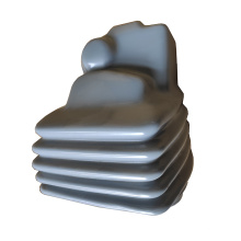 Customized stamping part with plastic coating PVC coating