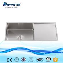 Tienda en línea al por mayor de acero inoxidable 304 Portable Shampoo RV Fregadero de cocina Surround