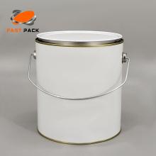 Lata personalizada de 1 galão para produtos químicos e tintas