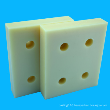 Natural Processing Part CNC Machining ABS Block