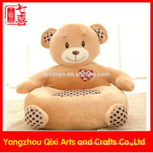 Wholesale soft teddy bear chair cute baby plush bear chair
