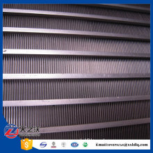 Stainless steel304 Wedge wire curved sieve screen