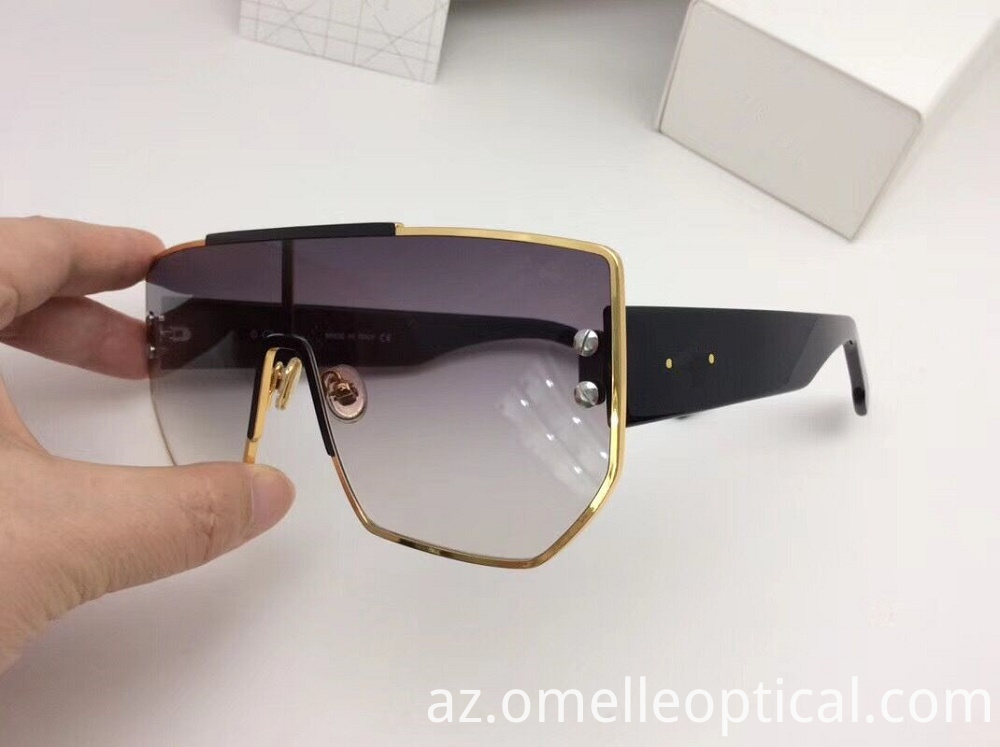 Goggle Shaped Sunglasses
