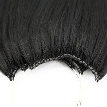 High Quality Human Virgin Remy Hair No Tip Hair Extension with Micro Ring