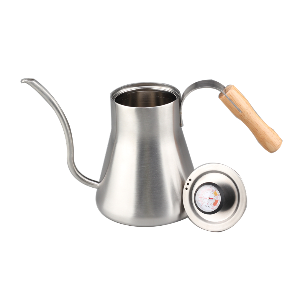 With Thermometer 1 2l Pour Over Coffee Kettle
