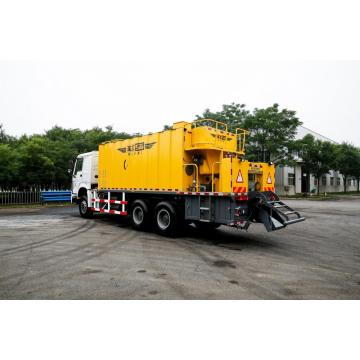 Asfalt Slurry Seal Micro Surfacing Road Building Machine
