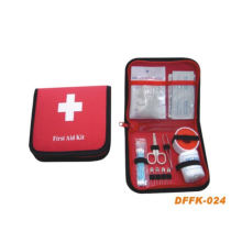 Travel First Aid Kit with 17.5*13.5*3cm