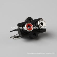 SGS Multiple rca connector/ rca female connector/rca plug