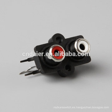 SGS conector rca múltiple / conector hembra rca / conector rca