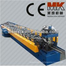 Hydraulisches Aluminiumstahltürrahmen-Farbstahlblech-kalte Rolle, die Maschine bildet