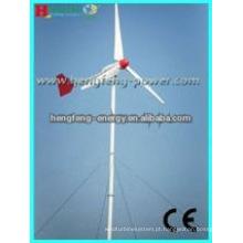 QUENTE! aerogerador 3KW & híbrido solar vento poder gerador/1KW, 2KW