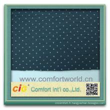 Mode nouveau dernier style design doux polyester auto personnalisées en gros pavillon tissu