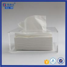 Cubo de acrílico Cube caja de tejido para el hogar o el hotel