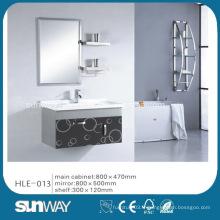 Cabinet en acier inoxydable à miroir miroir avec certificat certifié