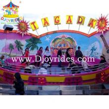 Outdoor Playground Equipment Amusement Rides Disco Turtable Tagada