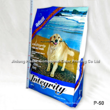 Heavy-Duty Pet Food Packaging Bag with Side Gusset and Zipper