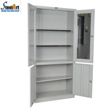Gabinete de almacenamiento de documento de dos puertas de muebles de oficina comercial de calidad superior
