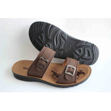 Hot Sale Classic of Men Beach Shoes with PU Outsole (SNB-14-010)