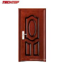 TPS-123A precio de fábrica barato de seguridad puerta de acero con clasificación de fuego