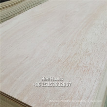 Wada high quality E0 glue poplar birch okoume 3mm thickness commercial plywood