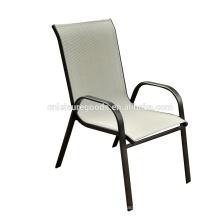 2016 cadeira de empilhamento exterior de aço barata do estilingue