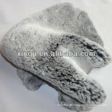 Fell Haut Rex Kaninchen gefärbt Farben Rex Kaninchenfell Haut für Mantel