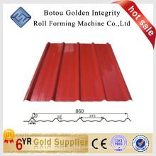 860 ibr telha e máquina de formação de rolo de parede