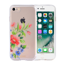 Capa Durable Beautiful Flowers IMD iPhone8 Plus