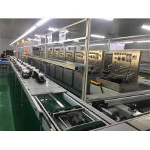 Transportador de cadena de velocidad de línea de montaje de purificador de agua