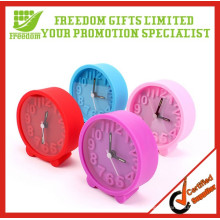 Réveil miniature de cadeau de cadeau de silicium de promotion