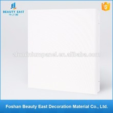 Aluminum ceiling 600x600 clip in false ceiling design building materials company